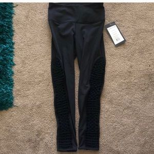 Black leggings size small by Vie Active with NWT